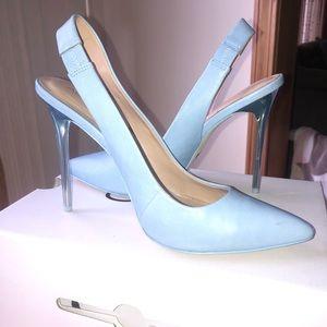 Women's Aldo powder Blue Heels